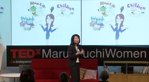 Kumi Sato, President of COSMO  presents at TEDxMarunouchiWomen