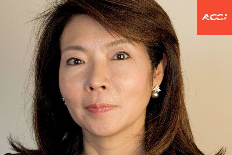 Kumi Sato is named Chairman Emeritus by the ACCJ Board of Governors