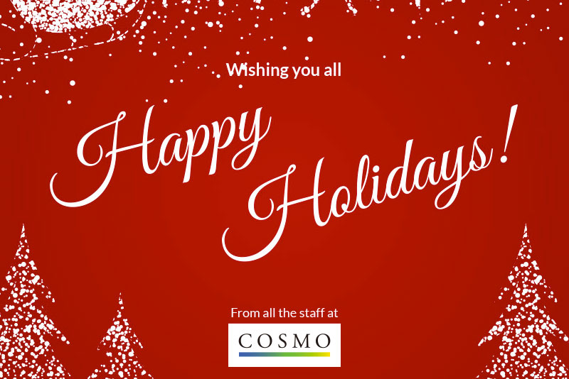 Happy Holidays from COSMO