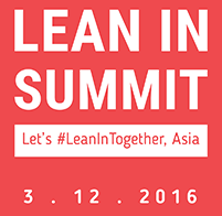 COSMO CEO and President, Kumi Sato, speaks at the Lean In Asia Summit 2016