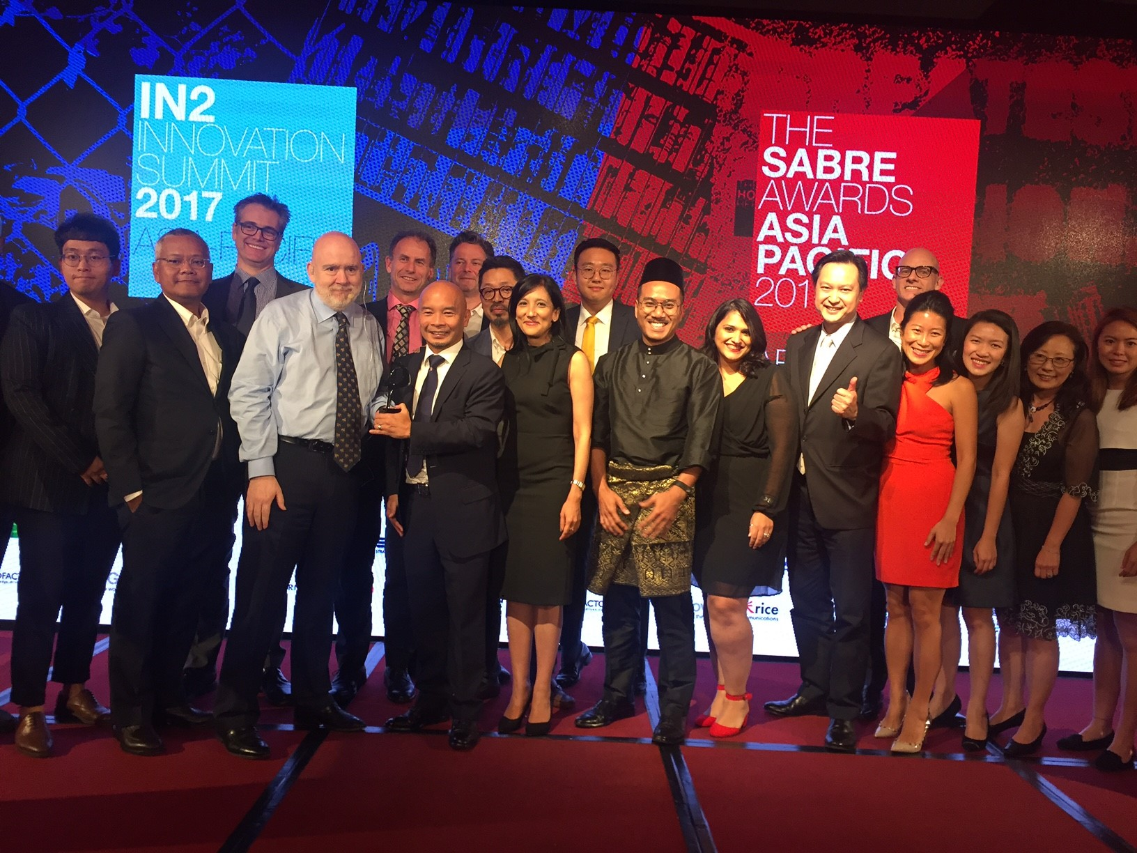COSMO Alum Baxter Jolly Wins SABRE Regional Consultancy of the Year